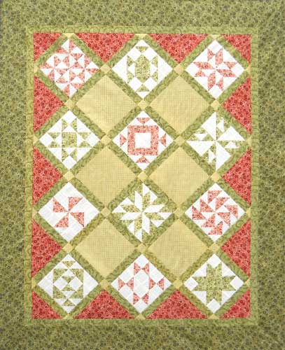 thangles BAB9 Sampler quilt project pack