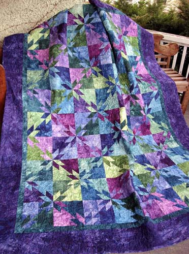 thangles orion Star quilt
