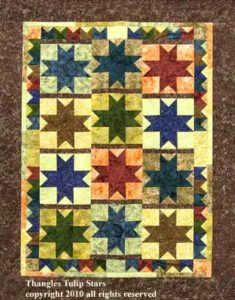 Thangles tulip stars project pack brown