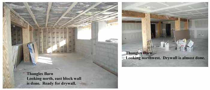 time for drywall